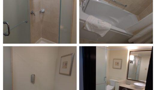 グアムウェスティンホテルのバスルーム