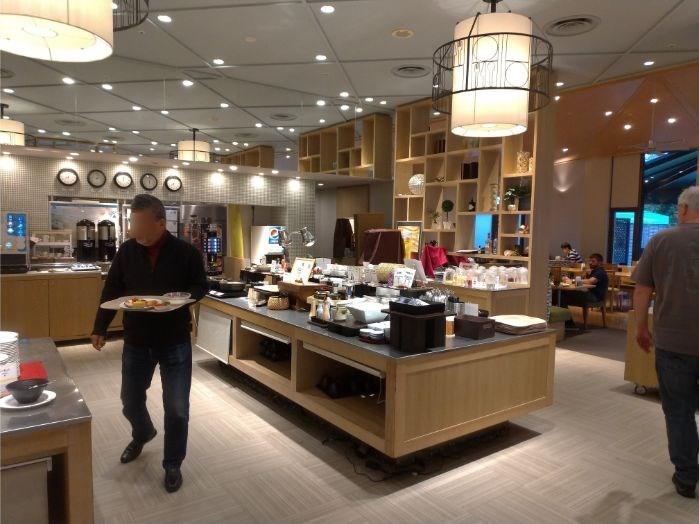 ホテル日航成田セリーナの朝食バイキング