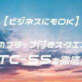 【ビジネスOK】ビアンキのフラップ付きスクエアリュックNBTC-55 レビュー
